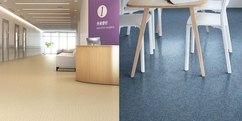 床の種類─ビニル床シート